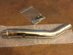 Stainless Steel Slip-On Exhaust Mid Pipe for Kawasaki Z800