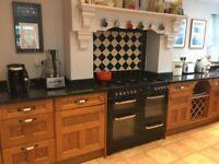 Oak effect kitchen units for sale