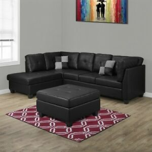 PROMO! Sofa sectionnel design original à prix accessible