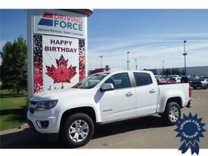 2015 Chevrolet Colorado LT Crew Cab 4x4 - 13,286 KMs, Seats 5