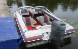 86 Edson bowrider with a 90 hp mariner merc and trailer