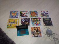 Nintendo 3ds including 9 popular games