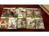 Xbox 360 10 Games GTA, Destiny, Batman