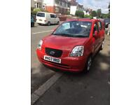REDUCED BARGAIN! IDEAL 1st car! 65k 07 picanto electric foldable roof kia alloys serviced read ad!!