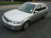 rover 45 with 11 months mot till june 2018 and only 53000 miles