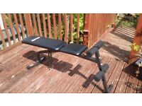 PRO FITNESS WORKOUT BENCH (BLACK) (SECOND HAND GOOD CONDITION)