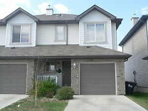 NEWER Townhome Half Duplex With Garage In Sherwood Park