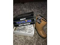 TuffKing Safety boots size 9/43