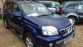 2002 nice condition Nissan X-Trail 2.0 Sport low miles for year