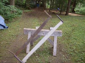 antique 2 man crosscut saws for sale