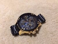 DIESEL DZ7333 BIG DADDY (CUSTOMISED DESIGN) Men's WATCH not armani