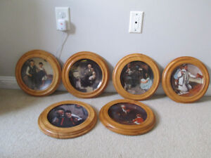 6 Limited Edition Heritage Norman Rockwell Plates by Knowles$15.