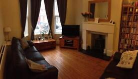 Double bed in lovely area