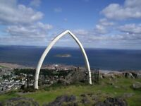Holiday Flat available in North Berwick from Friday 8th September on weekly basis.
