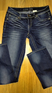 Warehouse One Mid Rise Relaxed Straight Woman's Jeans
