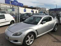 2006 56 MAZDA RX8 192 BHP 4 DOOR COUPE LOW MILEAGE WITH HISTORY VERY CLEAN STUNNING CAR BARGAIN!!!!