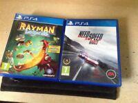 2 PlayStation 4games