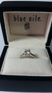 0.60ct solitaire engagement ring (Brand New)