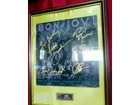 Bon jovi signed album