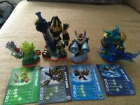 Skylanders Trap Team XBOX360 Wii PS £4 each