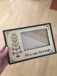 Christmas Picture Frame and Tins