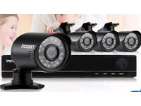 Complete 4 camera HD CCTV system - 2tb hdd - brand new
