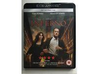 *** Inferno 4K UHD Blu-ray ***