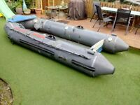 Avon inflatable sports boat
