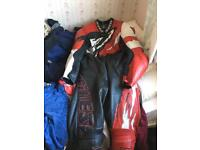 Dainese 1 piece leather suit, Not Rst or frank Thomas