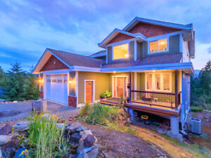 Nearly 4,000 sqft Custom Home on a Private Acre