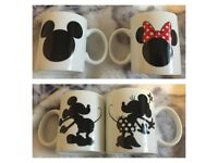 Disney his and hers mugs
