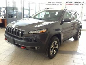 2016 Jeep Cherokee Trailhawk*JAMAIS ACCIDENTE*MAG*CUIR*