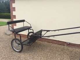 Robinsons pony exercise trap/cart and harness