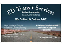 📦 Man & Van for Hire🔸N.Ireland, Dublin, Ireland, Scotland & North England Transportation.