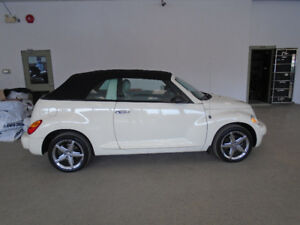 2005 CHRYSLER PT CRUISER TURBO CONVERTIBLE! 34,000KMS!!! $7,900!