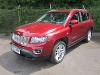 Jeep Compass 2.2 Limited CRD Turbo Diesel 4x4 (cherry red) 2013