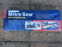 Mitre Saw with Wooden Base