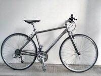 "FREE Speedometer (2515) 700c 19"" Aluminium RIDGEBACK HYBRID FLATBAR ROAD BIKE BICYCLE H: 173-188 cm"