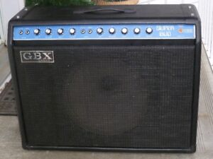 Vintage G.B.X . Combo Amp, (Made in Canada)