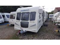 2010 Bailey Pegasus 546, 6 Berth Triple Bunks Caravan with Alu Tec Bodyshell