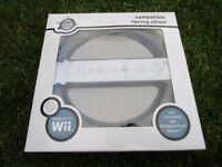 Wii compatible steering wheel
