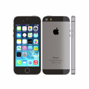 iPhone 5s 16 GB black, new condition + brand new case
