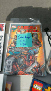 Cable and Deadpool #1-10 Mint Condition Comics