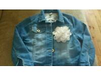 Beautiful girls denim jacket