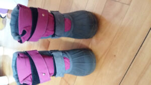Girl's winter boots
