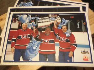 Montreal Canadiens Forum anniversary place mats