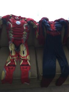 Ironman and Spider-Man Costumes