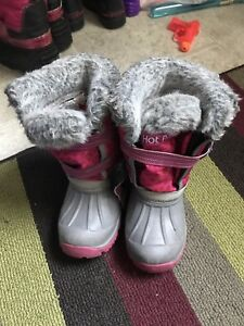 Toddler Size 10 Hot Paws Winter Boots