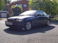 BMW 3 SERIES 2.0 318Ci 2door - Auto - ONLY 59,975 low mileage - Black