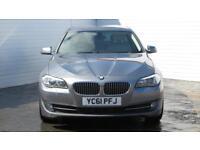 2011 BMW 5 Series 2011 61 BMW 5 Series 520D 2.0 D SE Diesel grey Manual